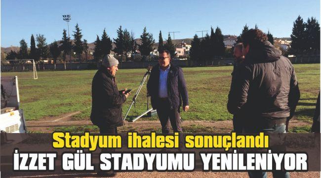 Seferihisar İzzet Gül Stadyumu ihalesi sonuçlandı