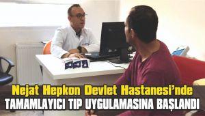 Seferihisar Nejat Hepkon Devlet Hastanesinde tamamlayıcı tıp uygulamasına başlandı