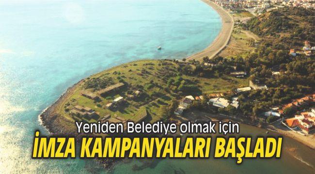 Belediye olmak için imza kampanyaları başladı