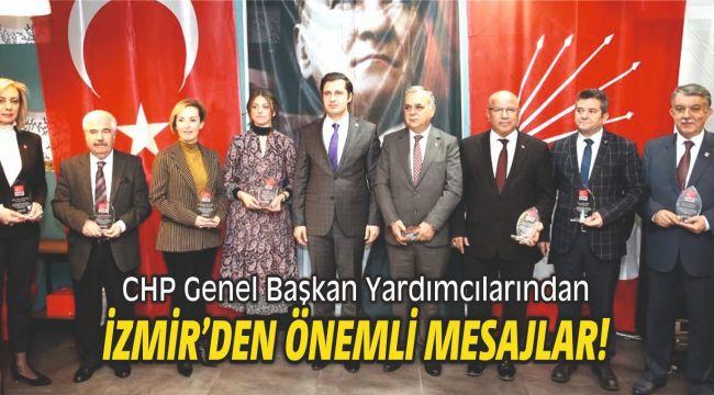 CHP Genel Başkan Yardımcılarından önemli mesajlar!