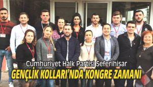 CHP Seferihisar Gençlik Kolları'nda Kongre Zamanı