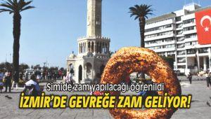 İzmir'de gevreğe zam geliyor!