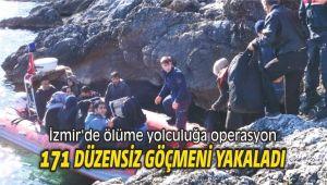 İzmir'de ölüme yolculuğa operasyon