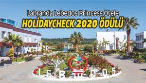 Labranda Lebedos Princess Otele HolidayCheck 2020 Ödülü