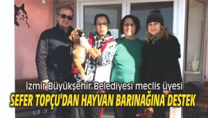 Meclis Üyesi Sefer Topçu'dan hayvan barınağına destek
