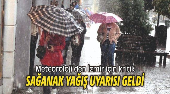 Meteoroloji'den kritik sağanak yağış uyarısı geldi
