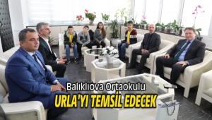Balıklıova Ortaokulu Urla'yı temsil edecek