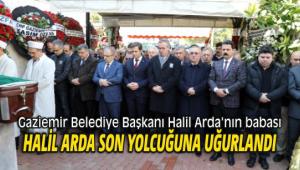 Başkan Arda'nın babası son yolcuğuna uğurlandı