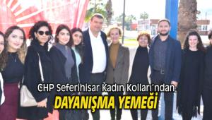 CHP Seferihisar Kadın Kolları'ndan Dayanışma Yemeği
