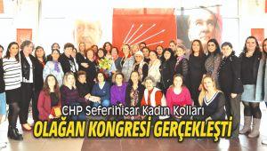 CHP Seferihisar Kadın Kolları Olağan Kongresi gerçekleşti