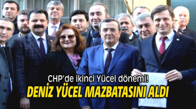 Cumhuriyet Halk Partisi İzmir'de ikinci Yücel dönemi!