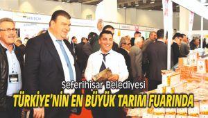 Seferihisar Türkiye'nin en büyük tarım fuarında