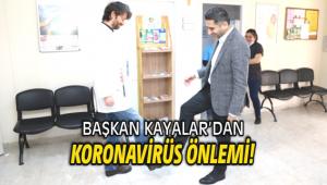 Başkan Kayalar'dan Koronavirüs önlemi!