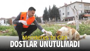 Menderes'te Can Dostlar Unutulmadı
