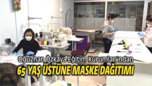 Oğuzhan Özkaya Eğitim Kurumları'ndan Maske Dağıtımı