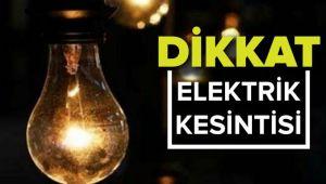 Seferihisar'da Pazar günü büyük elektrik kesintisi