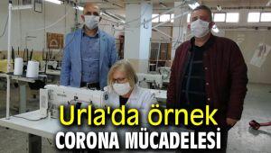 Urla'da örnek Corona mücadelesi