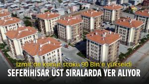 İzmir'de konut stoku 90 Bin'e yükseldi