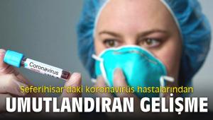 Seferihisar'daki koronavirüs hastalarından umutlandıran gelişme