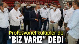 """İzmir'de profesyonel kulüpler de """"Biz Varız"""" dedi"""