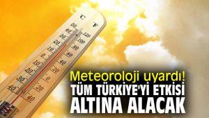 Meteoroloji uyardı! Tüm Türkiye'yi etkisi altına alacak