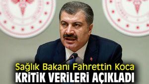 Sağlık Bakanı Fahrettin Koca kritik verileri açıkladı