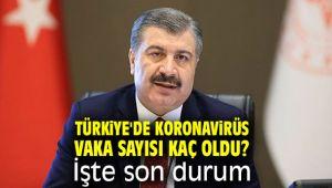 Türkiye'de koronavirüs vaka sayısı kaç oldu? İşte son durum