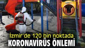 Büyükşehir'den 120 bin noktada virüs önlemi