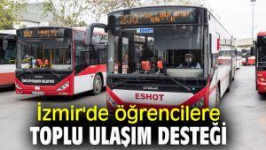 İzmir'de öğrencilere toplu ulaşım desteği