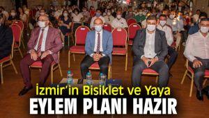 İzmir Bisiklet ve Yaya Eylem Planı kamuoyuna tanıtıldı