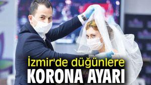 İzmir'de düğünlere korona ayarı verildi!