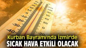 İzmirliler dikkat! Kurban Bayramı'nda sıcak hava etkili olacak