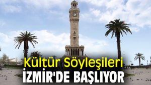 Kültür Söyleşileri İzmir'de başlıyor