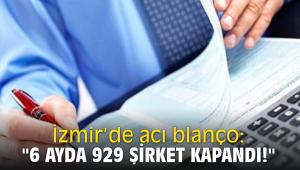 İzmir'de acı blanço: