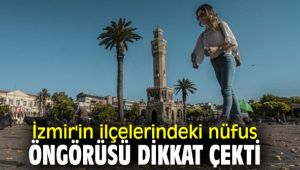 İzmir'in nüfus öngörüsü dikkat çekti