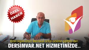 Özel İlgim Etüt Merkezi artık online eğitim de!. Dersimvar.net hizmetinizde..