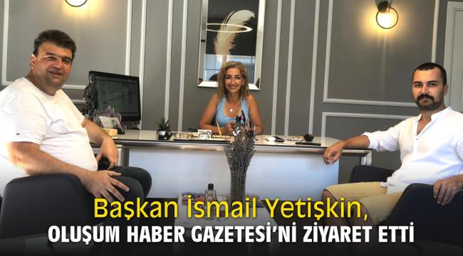 Seferihisar Belediye Başkanı İsmail Yetişkin, Oluşum Haber Gazetesi'ni ziyaret etti.