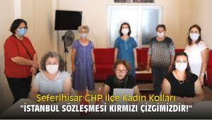 Seferihisar CHP ilçe Kadın Kolları