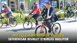 Avrupa Hareketlilik Haftası Seferihisar Bisiklet Etkinliği başlıyor