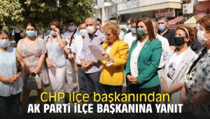 CHP ilçe başkanından Ak parti ilçe başkanına yanıt