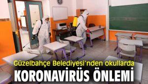 Güzelbahçe'de okullarda salgın Önlemi