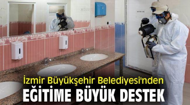İzmir Büyükşehir Belediyesi'nden eğitime büyük destek