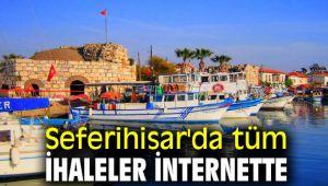 Seferihisar Belediyesi'nde artık tüm ihaleler internette