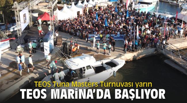 TEOS Tuna Masters Turnuvası yarın başlıyor