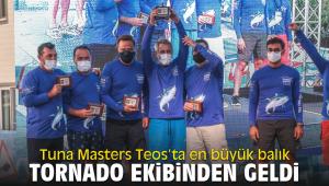 Tuna Masters Teos'ta en büyük balık Özgener'in Tornado ekibinden geldi