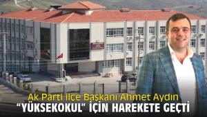 Ak Parti ilçe Başkanı Ahmet Aydın