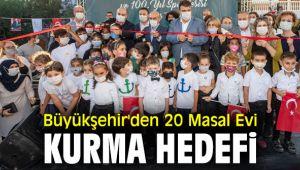 İzmir Büyükşehir Belediyesi, 20 Masal Evi kuracak