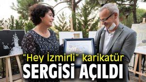 İzmir'de karikatür sergisi açıldı