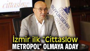 """İzmir ilk """"Cittaslow Metropol"""" adayı"""