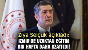 İzmir'de uzaktan eğitim bir hafta daha uzatıldı!